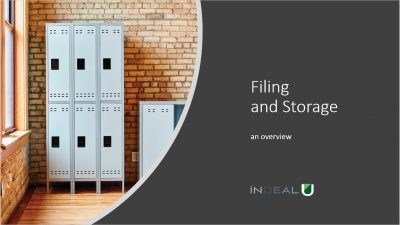 Filing and Storage